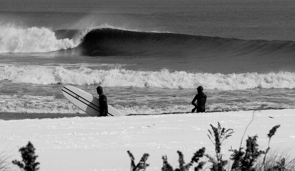 "Snow-covered lefts. Winter never disappoints in New Jersey. Photo: <a href=""http://jerseyshoreimages.com/about.html\"">Robert Siliato</a>"