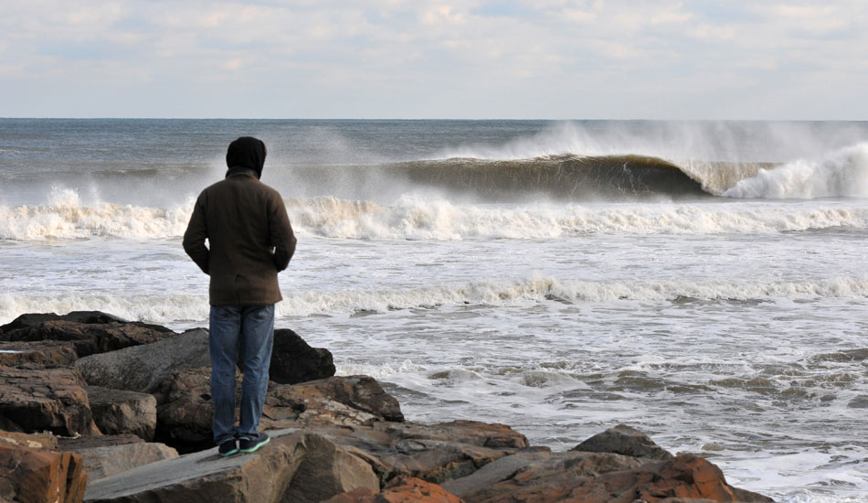 """December brings some much needed swells after a lackluster fall in New Jersey. Photo: <a href=\""""http://jerseyshoreimages.com/about.html\"""">Robert Siliato</a>"""