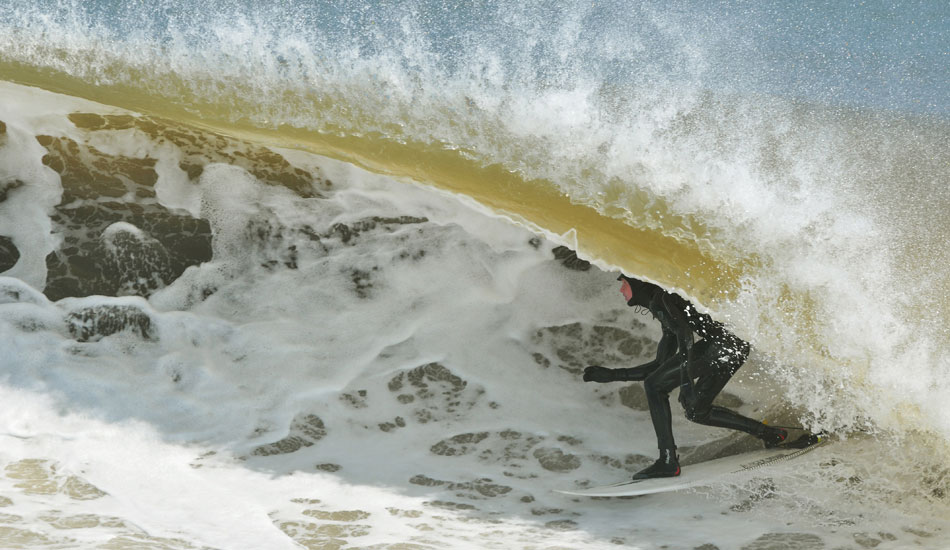 """Winter swells bring some fat lips. Photo: <a href=\""""http://jerseyshoreimages.com/about.html\"""">Robert Siliato</a>"""