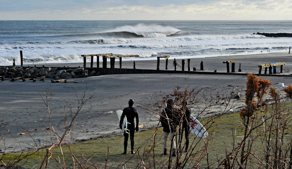 """Serenity amongst the devastation - Such is the case along the New Jersey Shore since Hurricane Sandy hit. For a brief moment,  NJ surfers we able to forget about the devastation. Photo: <a href=\""""http://jerseyshoreimages.com/about.html\"""">Robert Siliato</a>"""
