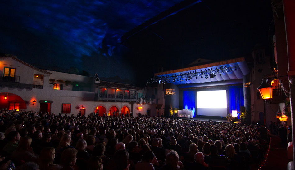 """The Arlington Theatre holds 2000 people. The ceiling feels like you\'re outside at night with a few stars in the sky. Photo: <a href=\""""http://lowtiderising.com/\"""" target=_blank>Branden Aroyan/lowtiderising.com</a>"""