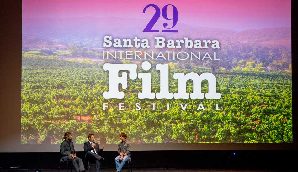 """Jason Baffa and Chris del Morro talking story about the making of the film, shooting in 35mm and putting the budget together on faith and how the characters they met in the film were both a surprise to them and an integral part. Photo: <a href=\""""http://lowtiderising.com/\"""" target=_blank>Branden Aroyan/lowtiderising.com</a>"""