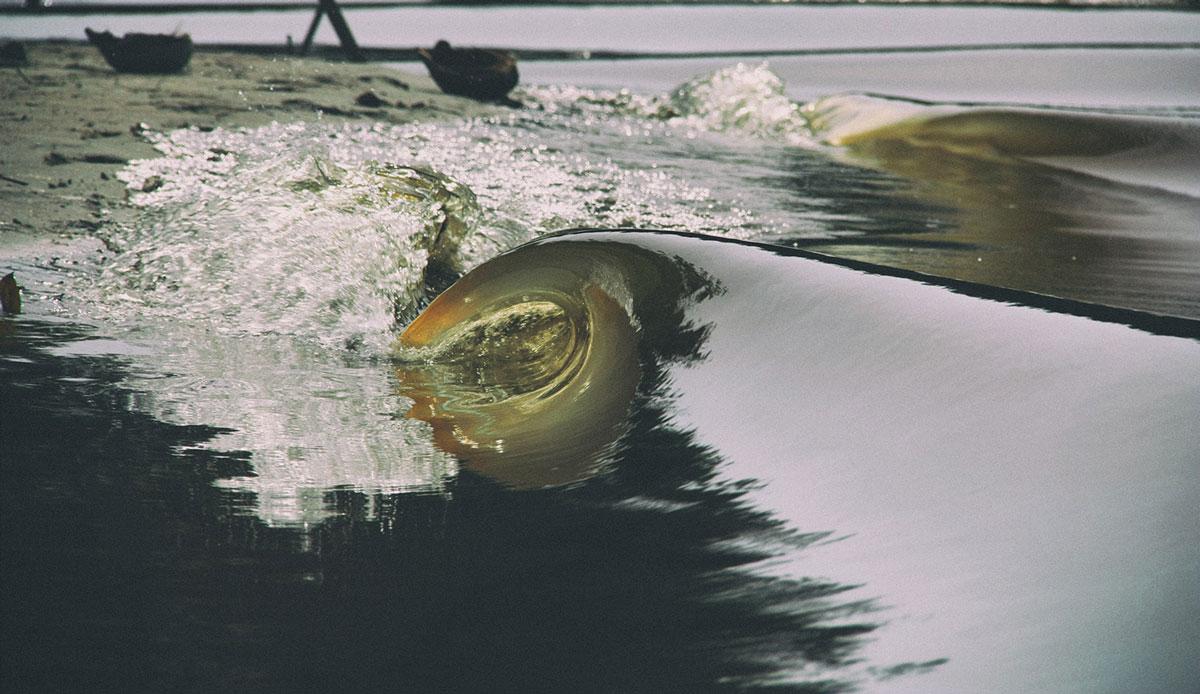 "Siberut river waves. Photo: <a href= \""http://joaobracourt.com/\"" target=_blank>Joao Bracourt.</a>"
