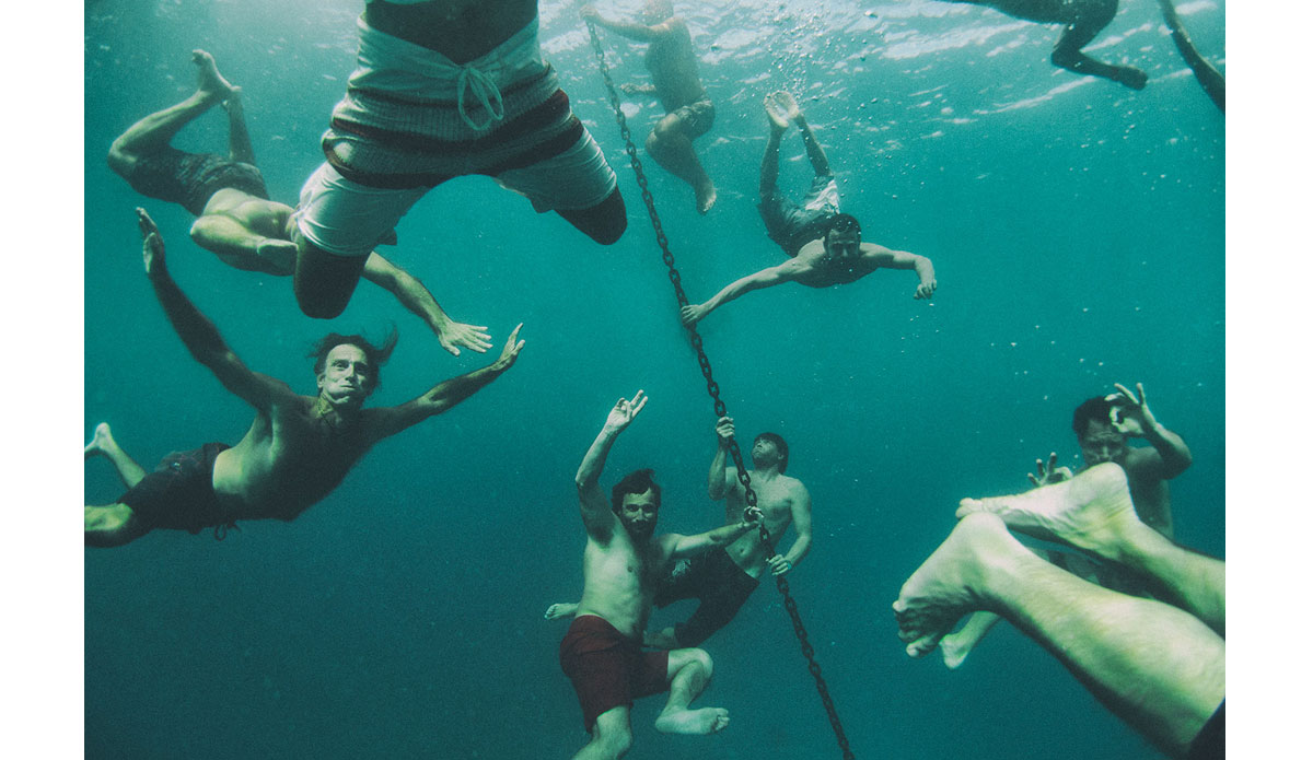 "The boys stoke after another surf trip. Photo: <a href= \""http://joaobracourt.com/\"" target=_blank>Joao Bracourt.</a>"