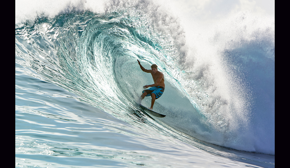 "Bruce Irons, Bank Vaults, Mentawais Islands, 2009. Image: <a href=""http://www.artbrewer.com/\"" target=\""_blank\"">Brewer</a>"