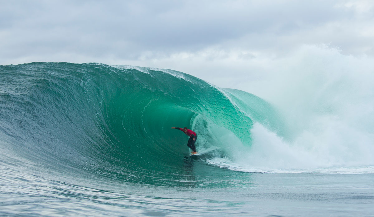 "Ryan Hipwood, right where he wants to be. Photo: <a href=""http://www.redbullcapefear.com/\""> Red Bull</a>"