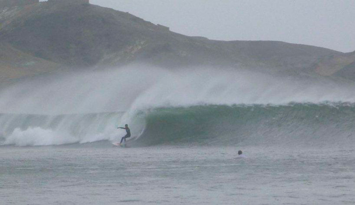 When conditions line up, a set wave at Chicama is not something you\'ll soon forget.