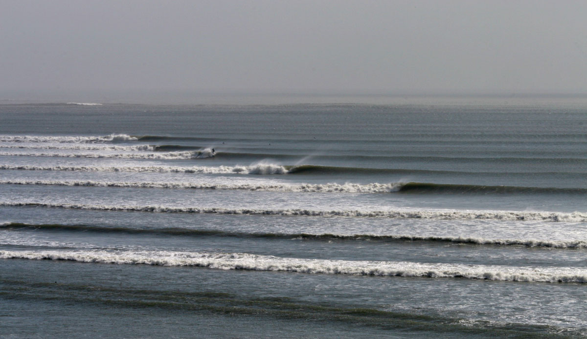 Peruvian perfection, stacked to the horizon.