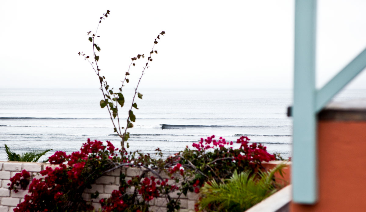On the balconies, your view serves as the world\'s best surf check.