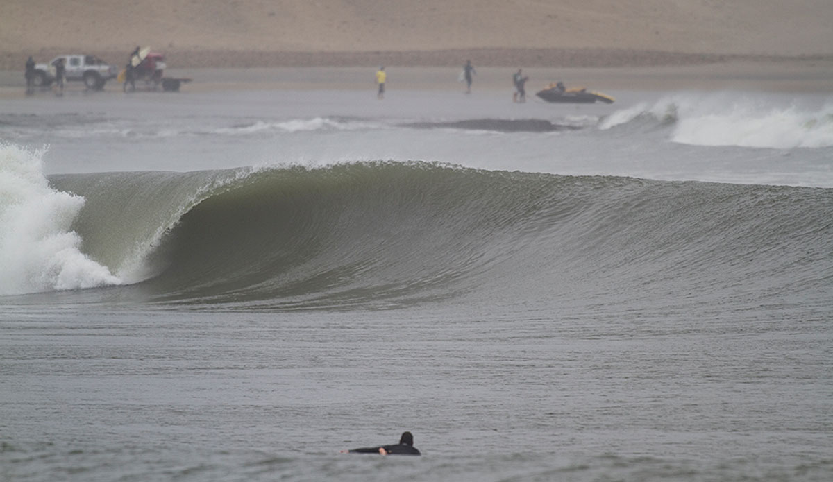 One of those barrel sections.