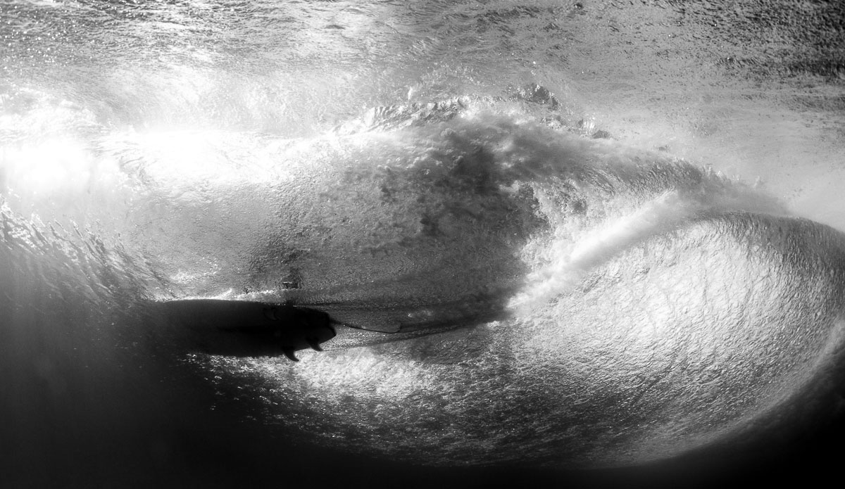"""One of those shots where everything has to be right. The wave, the distance and the surfer\'s skill. Things came together rather nicely on this one I\'d say. Photo: <a href=\""""http://www.SurfLove.com.au/\""""> Chris Eyre-Walker.</a>"""