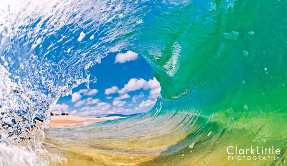 """The water clarity and white sand beaches is why I love shooting on the North Shore. Photo: <a href=\""""http://ClarkLittlePhotography.com\"""" target=_blank>Clark Little</a>."""