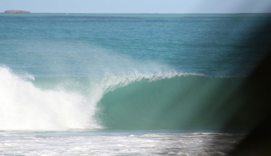 Side-Offshore, open walls... this spot was worth the extra effort.