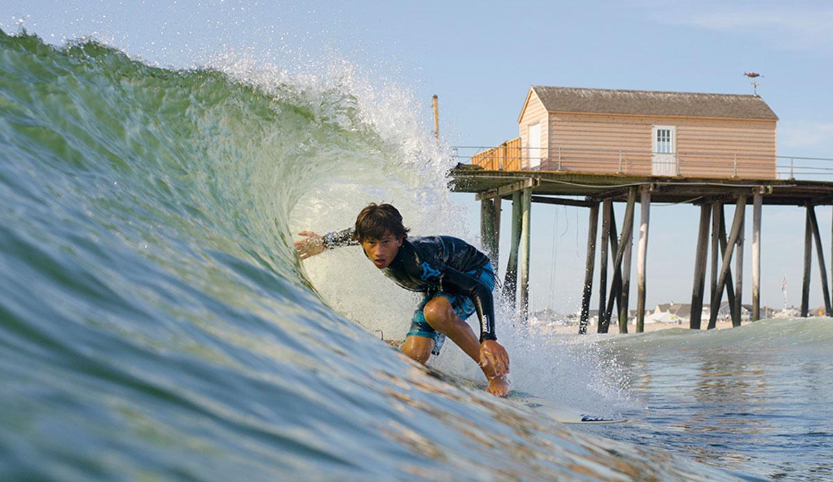 """Paul Francisco on a summertime gem. Photo:<a href=\""""http://www.jeremyhallphotography.com/\""""> Jeremy Hall</a>"""