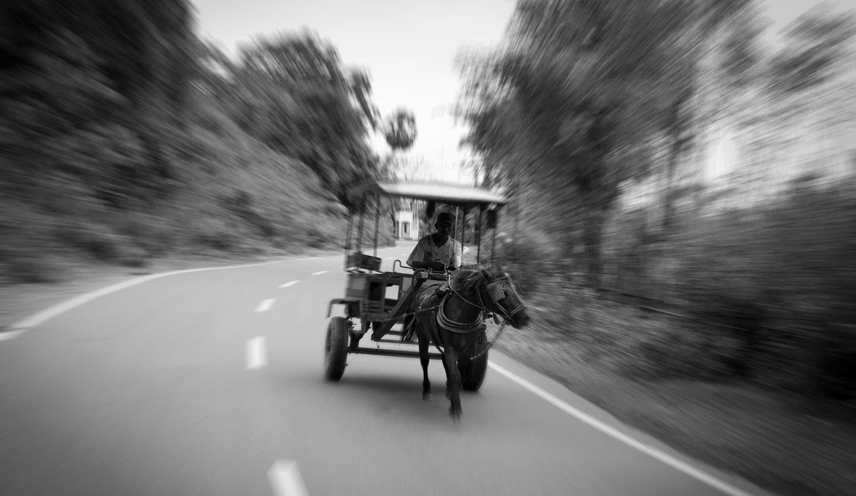 """Local taxis in Maluk, Indonesia. Photo: <a href=\""""http://www.nickliotta.com/\""""> Nick Liotta</a>"""