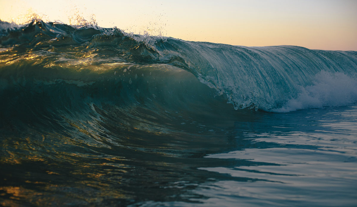 "A calm little cylinder at Windansea Beach, La Jolla, CA. Photo: <a href=\""http://gagehingeley.com/\"">Gage Hingeley.</a>"