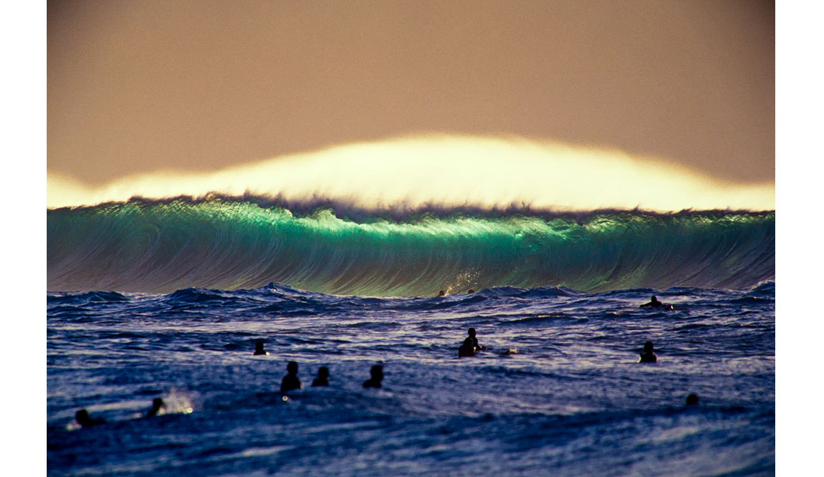 "A little out of order here but this image of Pipeline from 2003 is still one of my favorite images I have ever captured in Hawaii. Photo: <a href=""http://anthonyghigliaprints.com/\"">Anthony Ghiglia</a>"