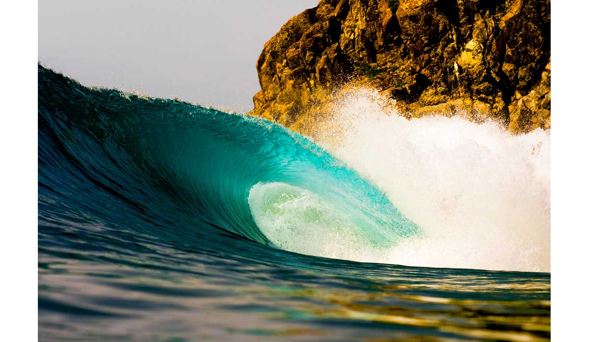 "This wave is in Mexico and I put it in here to really give you an idea what I\'m talking about.  Waves can be playful and they can be angry.  Their form can portray dozens of unique emotions.  When I shoot waves I try to capture these emotions. Photo: <a href=""http://anthonyghigliaprints.com/\"">Anthony Ghiglia</a>"