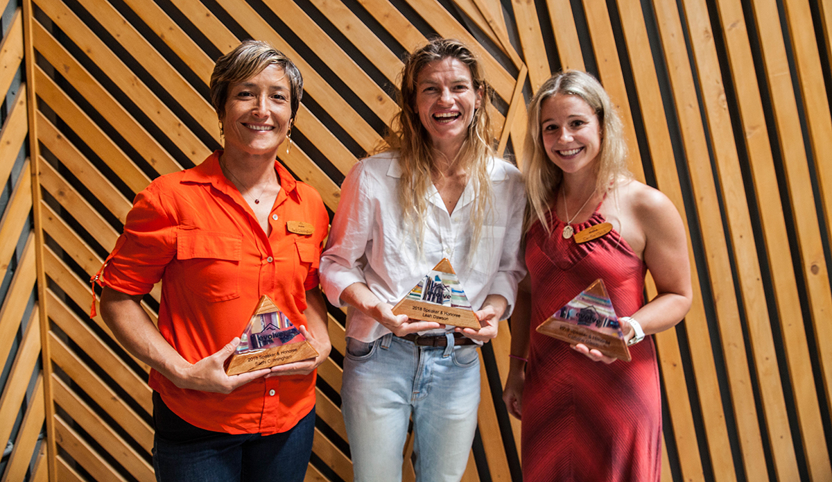 Speaking on the future of women in the outdoors, Sachi Cunningham, Leah Dawson and Caroline Gleich were part of one the night\'s most enthralling panels. 
