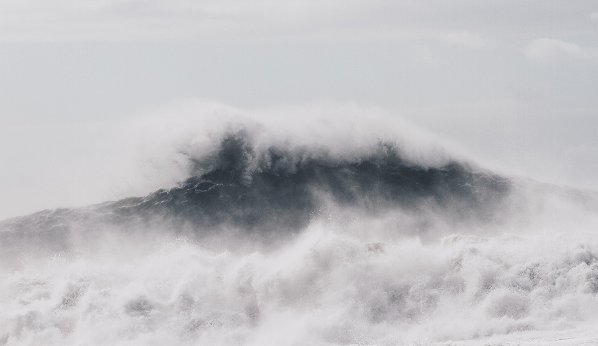 Haters will say it\'s fake. But it\'s not. Nazaré is very much the real deal. Photo: Marie Pfisterer