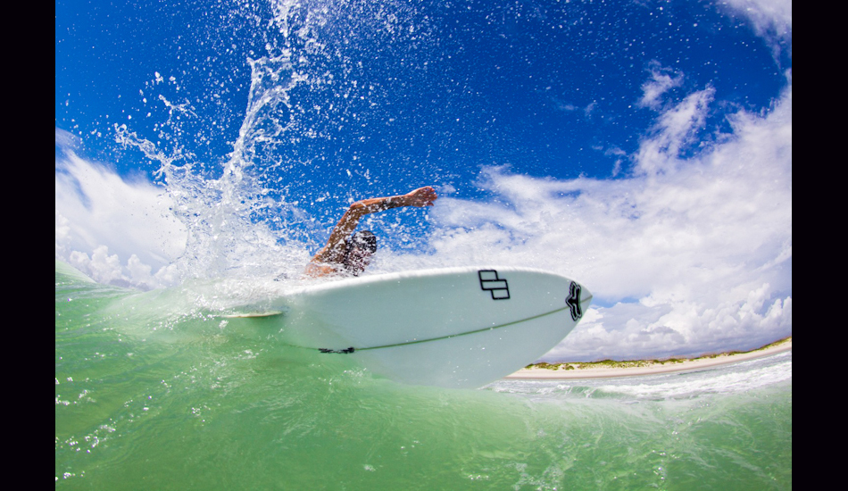 """2012. Surfing Artist Phil Goodrich is known for his amazing barrel riding in Indo, but still has smooth style on smaller waves. Photo: <a href=\""""http://www.chrisfrickphotography.com/\"""" target=_blank>Chris Frick</a>"""