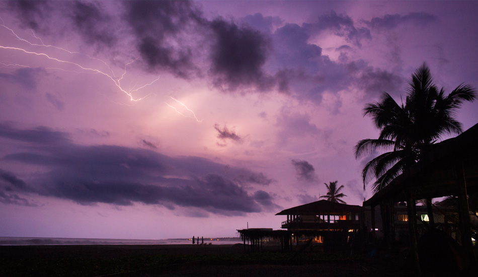 "A storm rolls in from the Pacific lighting up the sky. Photo: <a href=""http://www.gaz-art.com/\"">Gary Parker</a>"