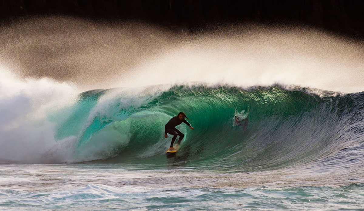Irish tubes. Photo: Cody Welsh