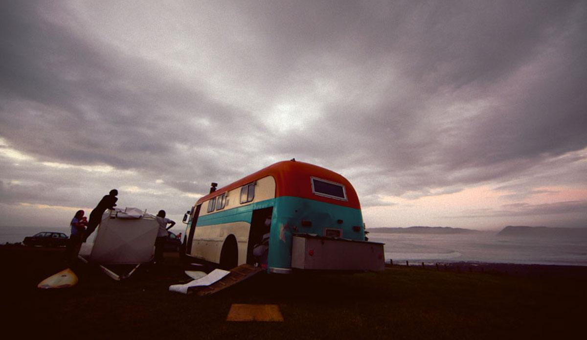 NZ set up. Photo: Cody Welsh