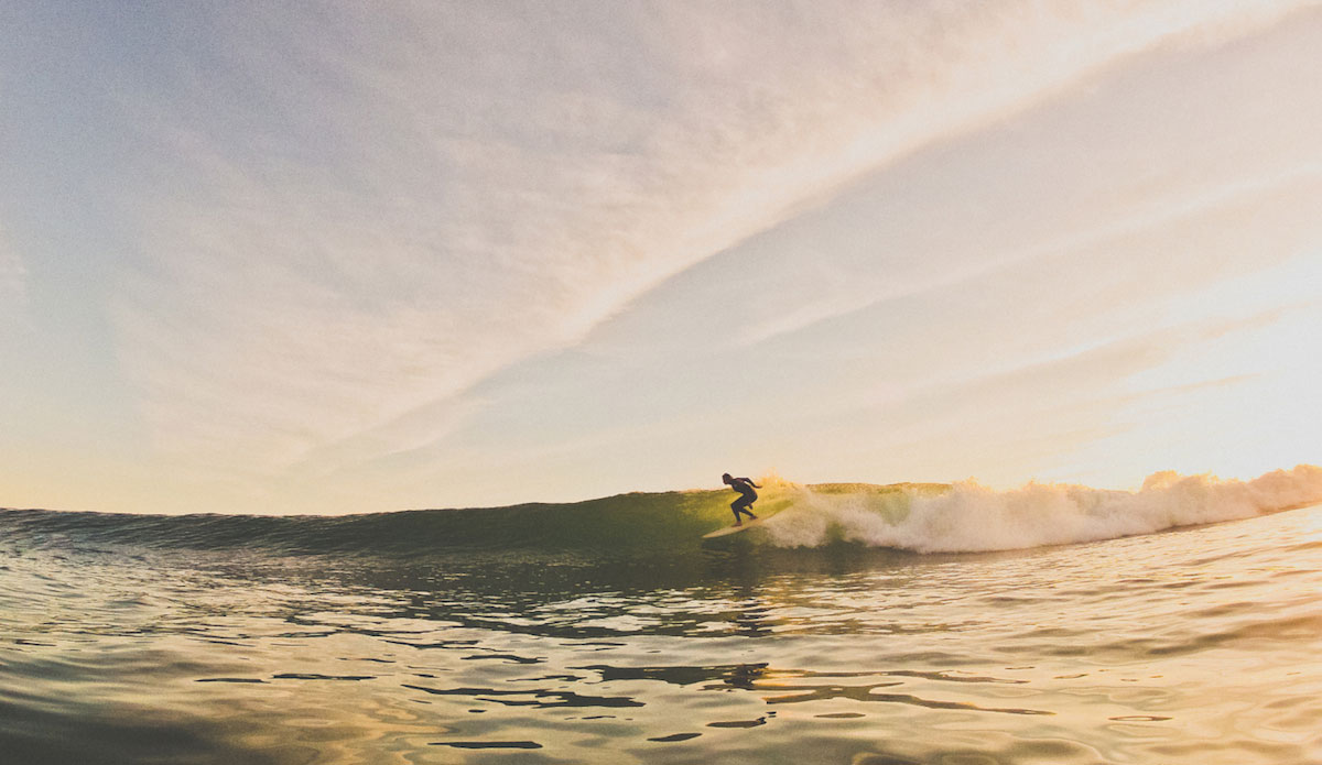 Sequence #1 of Dane Reynolds. Perfect spot, perfect wave. Photo: Gregory Swanson