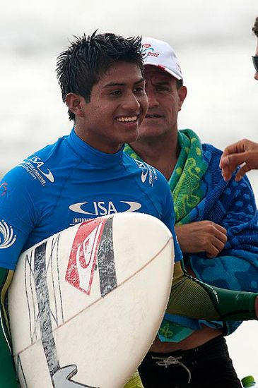Peru\'s Juninho Urcia stoked to be competing in China. Photo: ISA/Gonzales