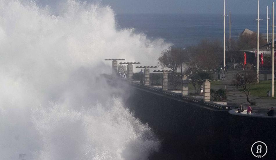 "Over the seawall. Porto Moniz, Portugal. Photo: <a href=\""https://www.facebook.com/8Oito\""> 8Oito Photo</a>"