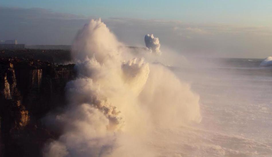 Cliff explosions in Sagres, Portugal. Photo: Hugo Branco Duarte