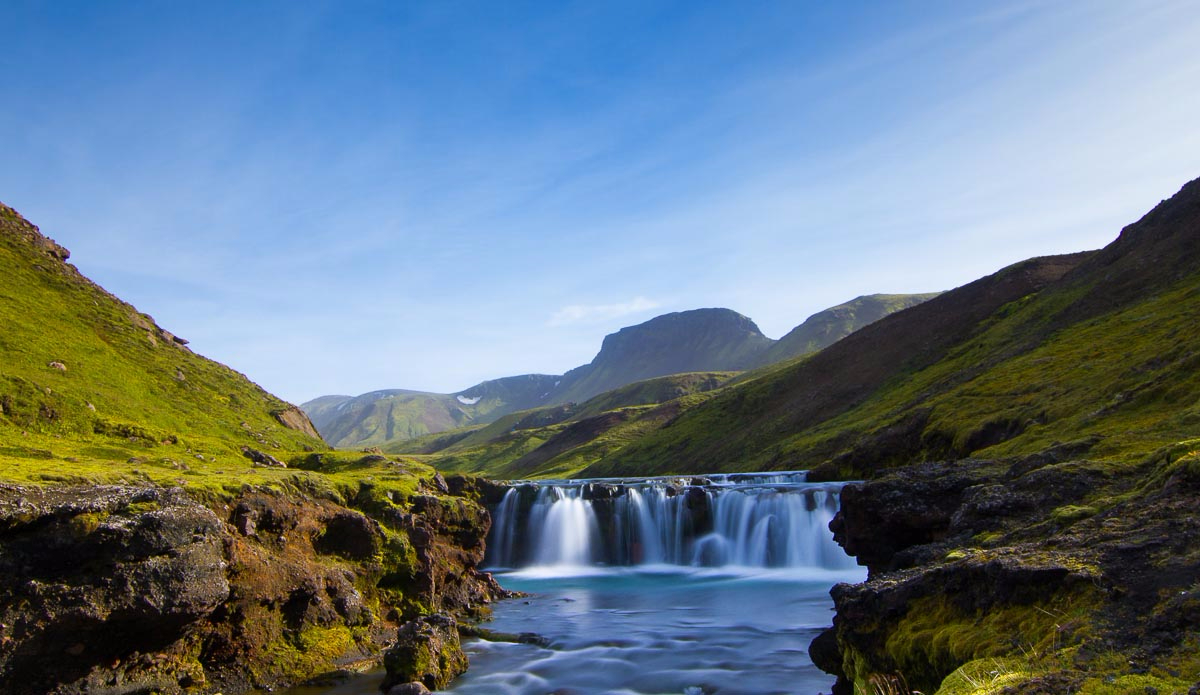 Waterfalls are just a pleasure for photographers. Photo: Ben Bireau / PuraVida Images