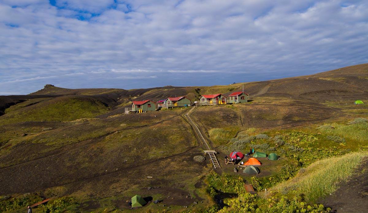 One of our refuges during the trek. Photo: Ben Bireau / PuraVida Images