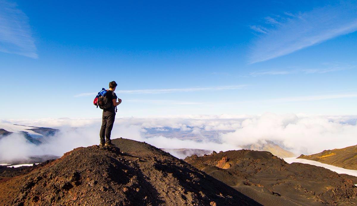View from Volcona Eyjafjöll. Photo: Ben Bireau / PuraVida Images
