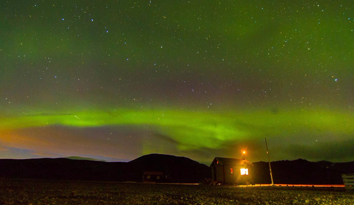 And the Northern Lights appeared. Photo: Ben Bireau / PuraVida Images