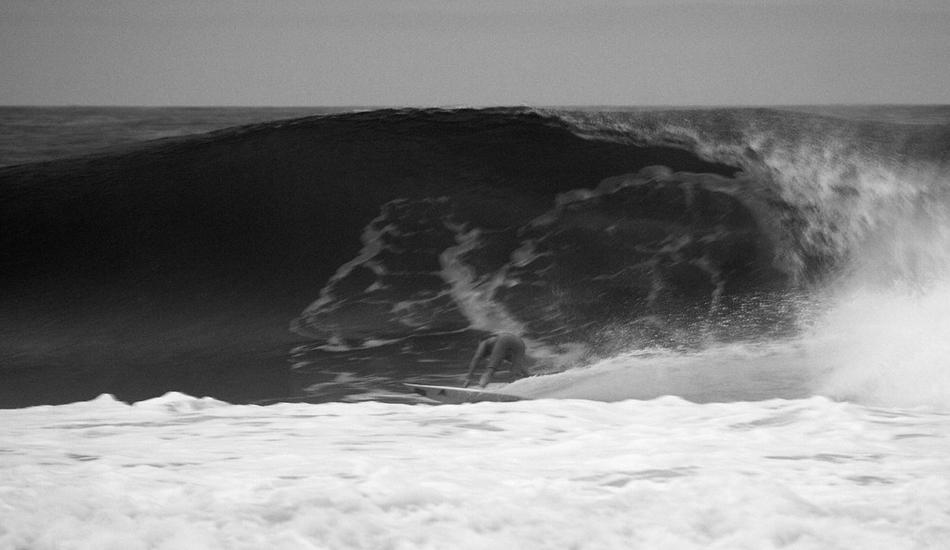 "8:33 p.m. Tom Petriken surfing in the dark. Image: <a href=\""http://mikeincitti.com/\"" target=\""_blank\"">Incitti</a>"