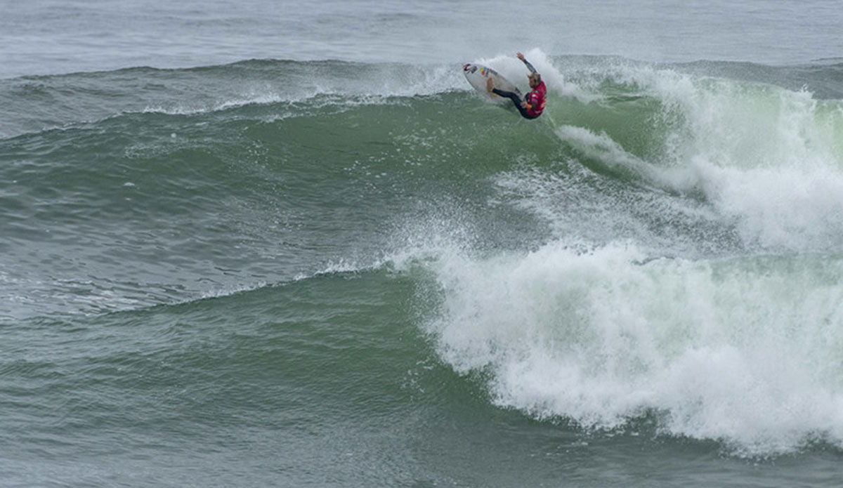 """Argentina\'s Leandro Usuna won the men\'s gold medal. Photo: <a href=\""""http://www.isasurf.org/\"""">ISA 