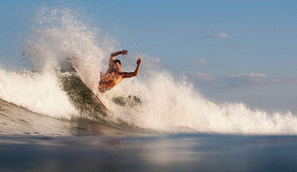 """Watching power surfing never gets old. Luke Ditella from the water. Photo: <a href=\""""http://mikeincitti.com/\"""" target=_blank>Mike Incitti</a>"""
