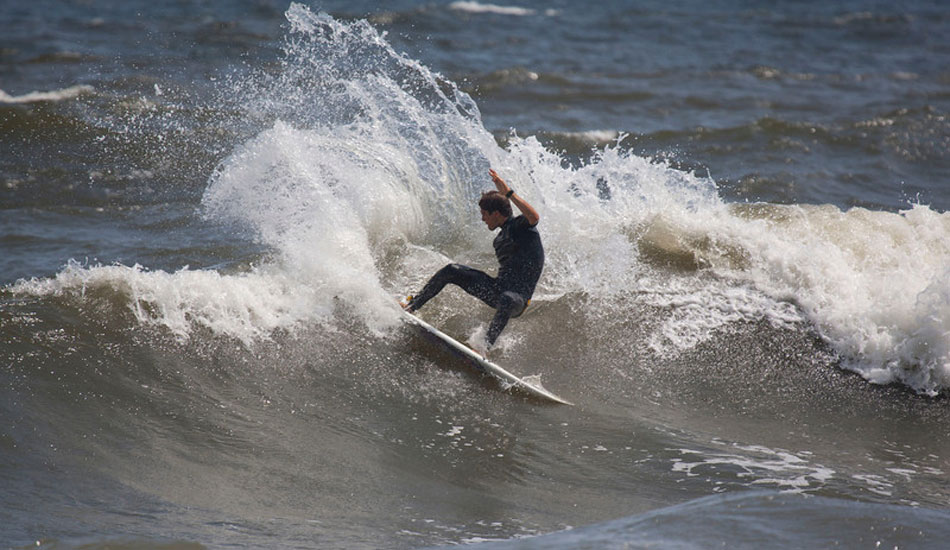 """re\'s PJ Raia, making sloppy conditions look clean with his smooth style. Photo: <a href=\""""http://mikeincitti.com/\"""" target=_blank>Mike Incitti</a>"""