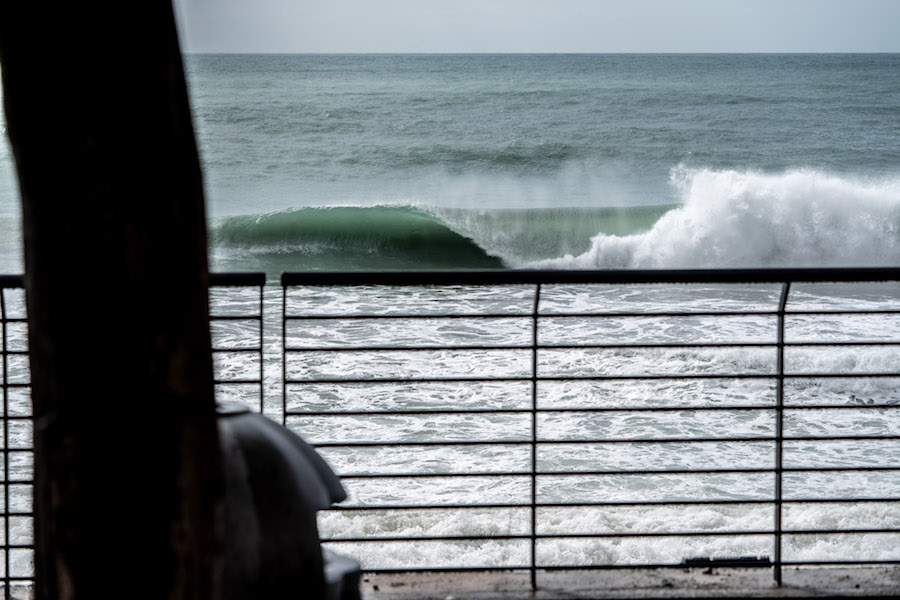 Waves like this.