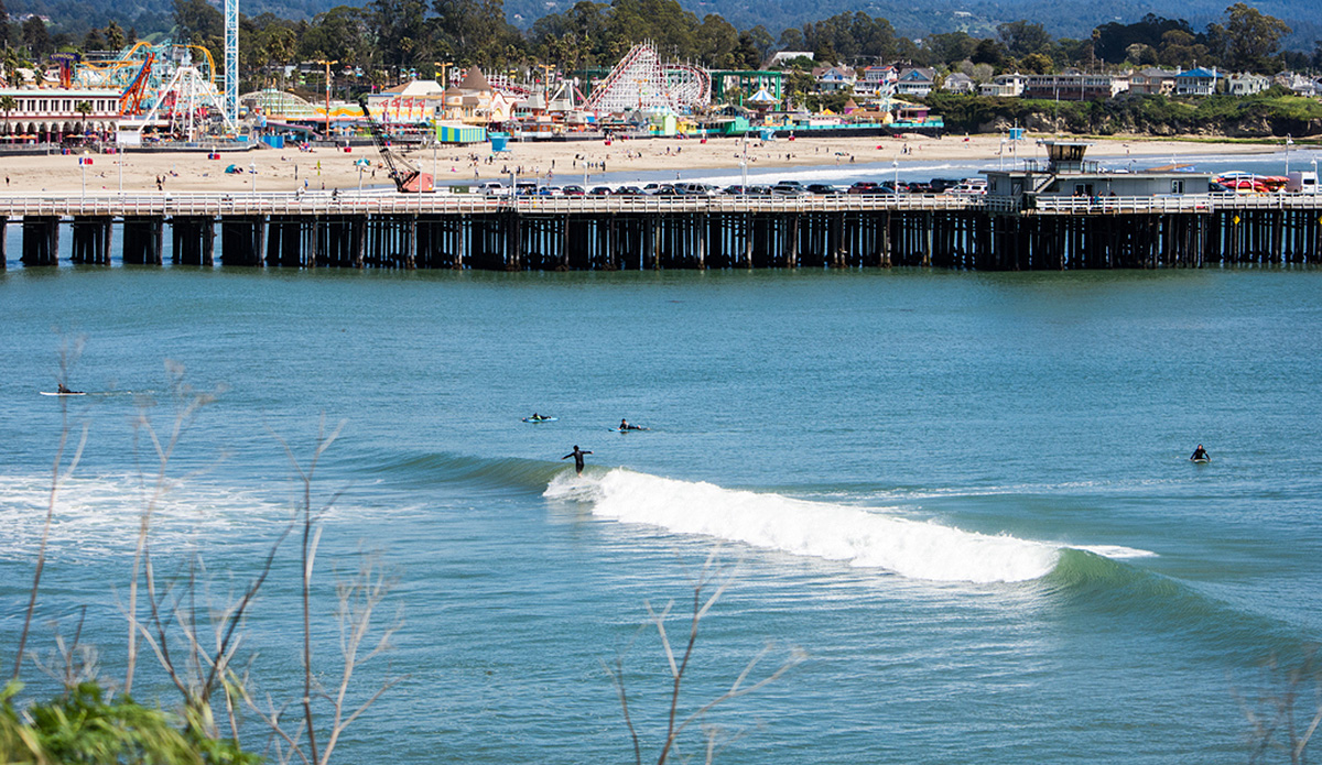 Santa Cruz, land of the perfect rights. Photo: Jack Bober