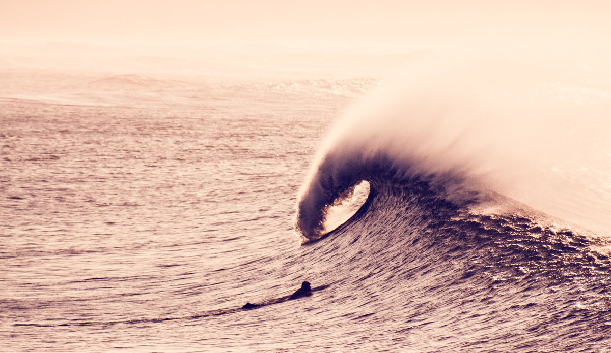 """Gelito usually surfs the eastern part of the beach, a place called San Juan. Photo: <a href=\""""http://www.jaiderlozano.com/\"""">Jaider Lozano</a>"""