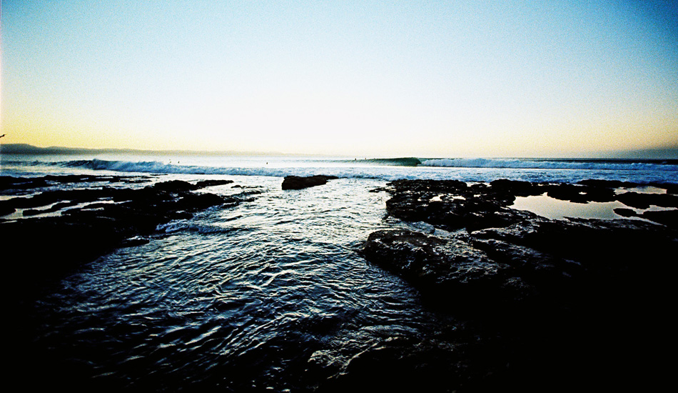 The Gully, Supertubes. J-Bay looking like... well, J-Bay. Photo: Jared Aufrichtig