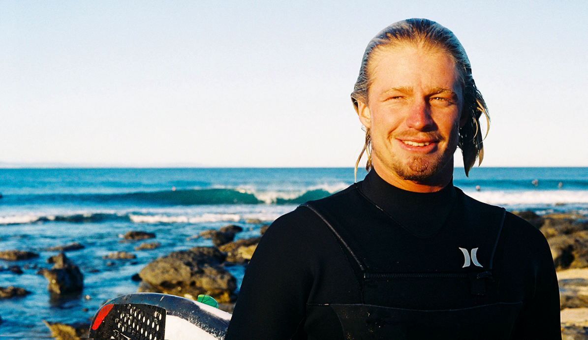"""Brothers Grin\"" Kolohe Andino 35mm Portrait Jeffreys Bay By Jared Aufrichtig"