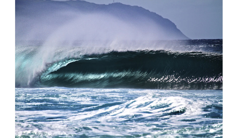 Deep blues and perfect barrels found at Log Cabins. Photo: Jason Naudé