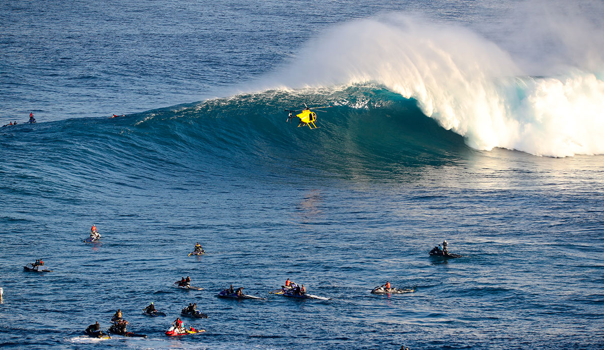 """The helicopter at Jaws makes everything look way cooler. Photo: <a href=\""""https://www.instagram.com/aaronlynton/\"""">Aaron Lynton</a>"""