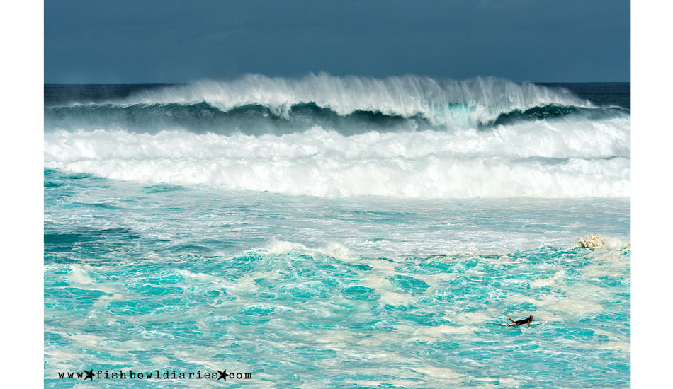 """This will be a difficult paddle out. Photo: <a href=\""""http://fishbowldiaries.com\"""">Sofie Louca - Fish Bowl Diaries</a>"""