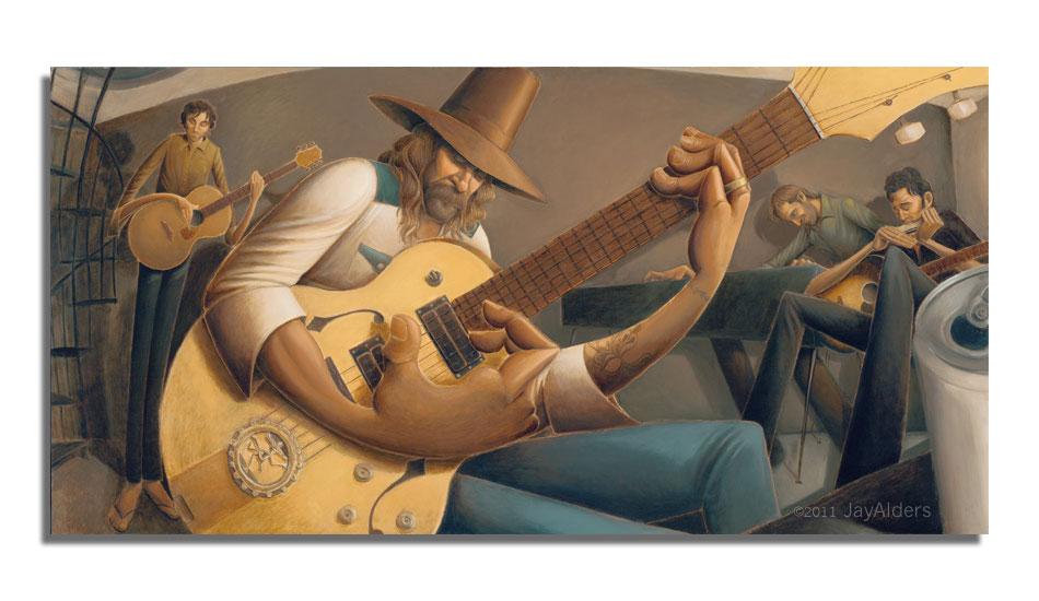 "Rio Jam. Art: <a href=\""http://jayalders.com/\"" target=_blank>Jay Alders</a>."