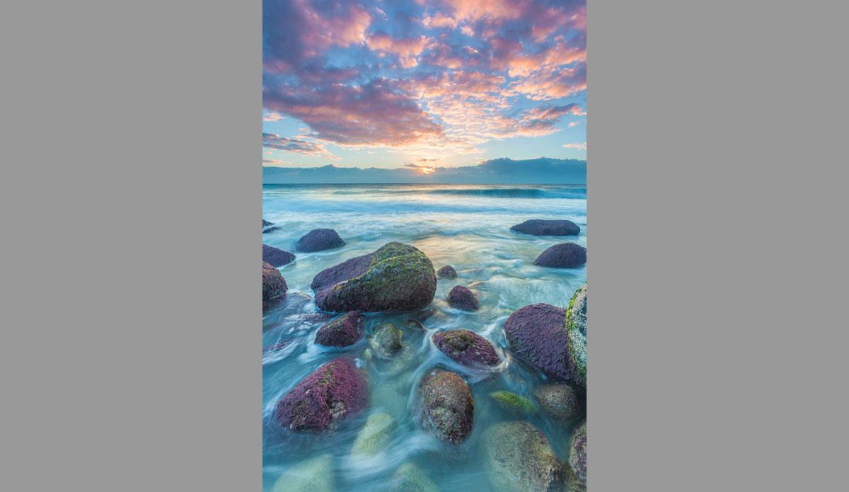 "Sunrise from Point Danger. Photo: <a href=\""http://jessethompsonphotographer.com/\""> Jesse Thompson</a>"